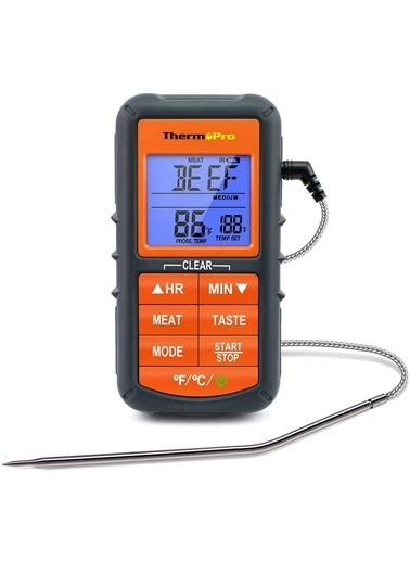 Thermopro Tp06S Profesyonel Gıda Pişirme Termometresi Renkli